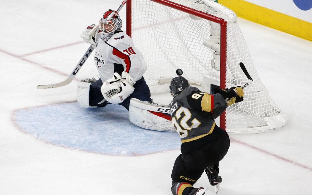 Washington se přiblížil Stanley Cupu, Nosek jediným střelcem Vegas