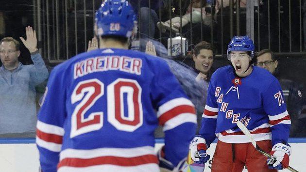 Jsem šťastný, jásal český teenager po famózním večeru v NHL